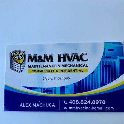 Avatar for M&M Hvac maintenance and mechanical