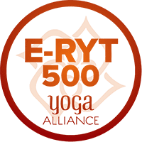 I have the highest yoga certification through Yoga Alliance, which means I've taught over 2000 hours and four years since my certification.
