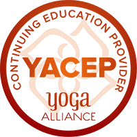 I am a certified continuing education provider through Yoga Alliance.