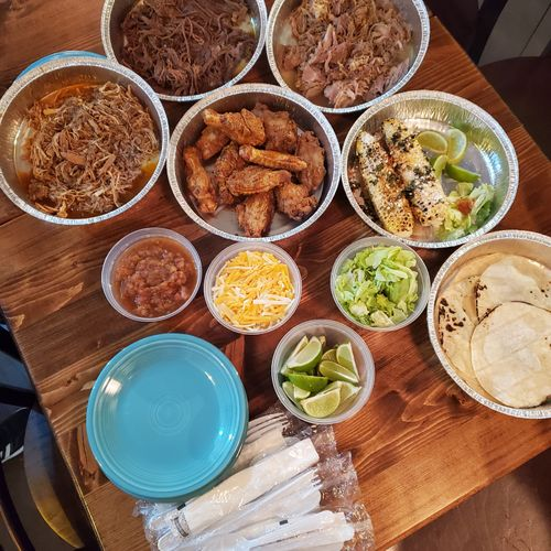 Mexican Family Feast (Feeds 4)