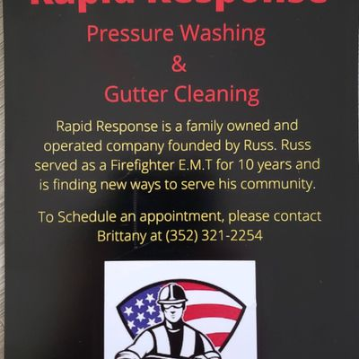 Avatar for Rapid Response Pressure Washing & Gutter Cleaning