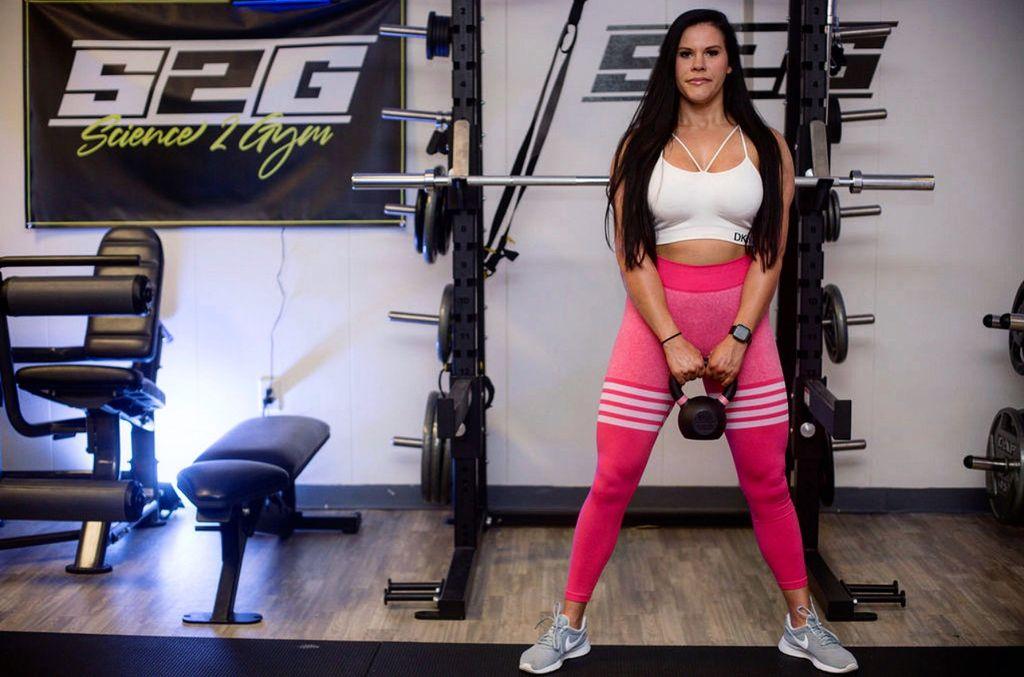 Step-Up Fitness with Stephanie