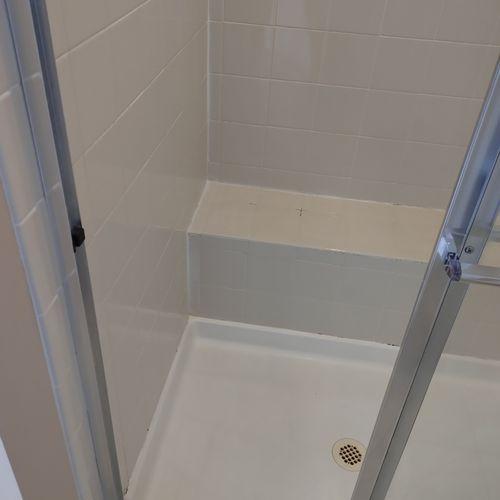 Restored shower