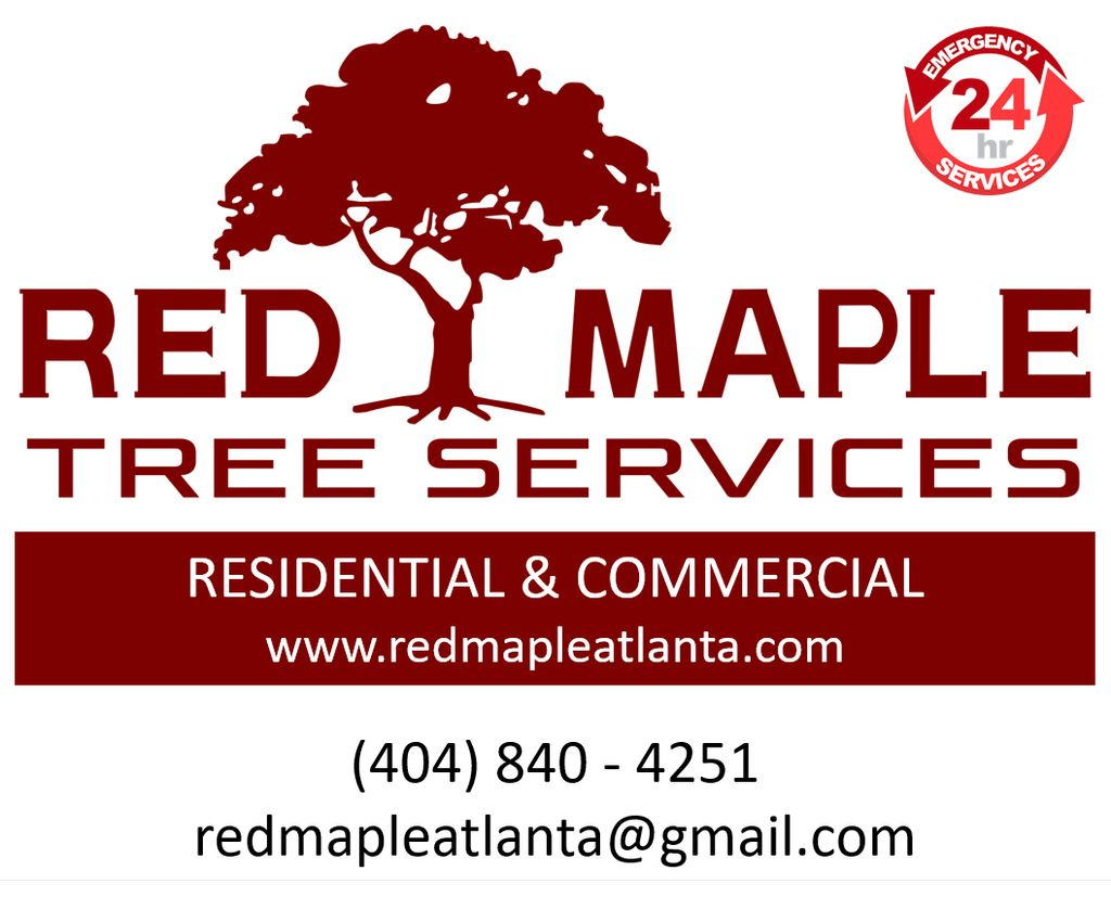 Red Maple tree services