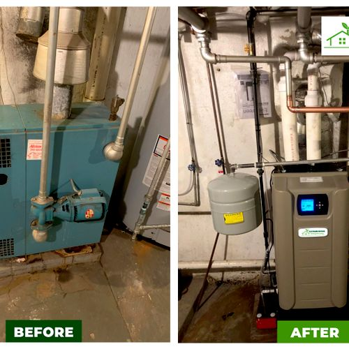 High Efficiency boilers for maximum monthly savings