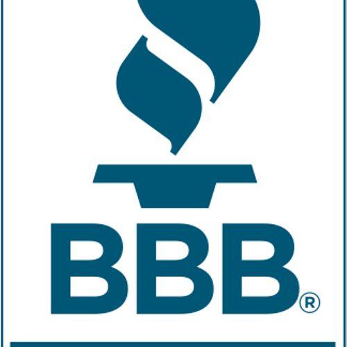 Proud member of the Better Business Bureau