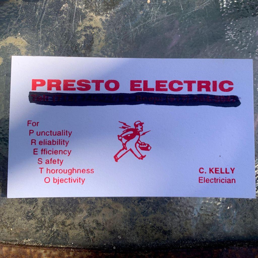 Presto Electric Corp