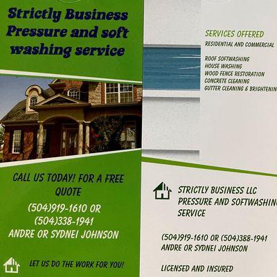 Avatar for Strictly Business Pressure and softwashing