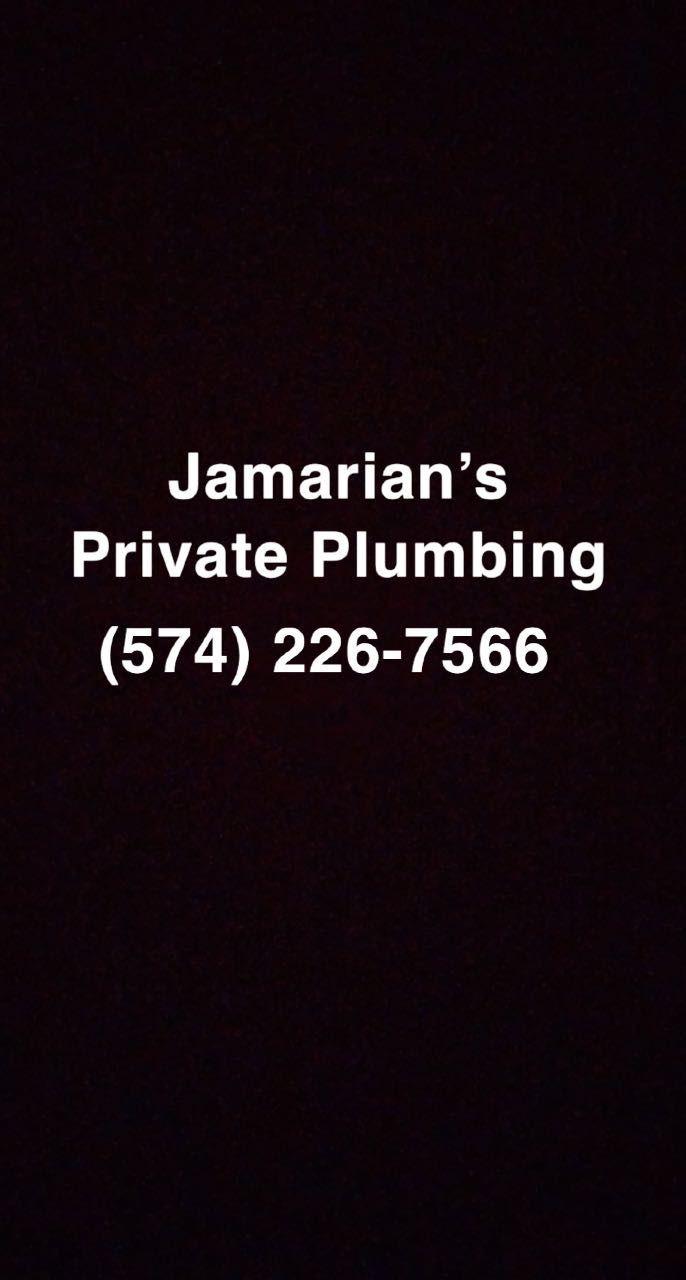 Jamarian's private plumbing