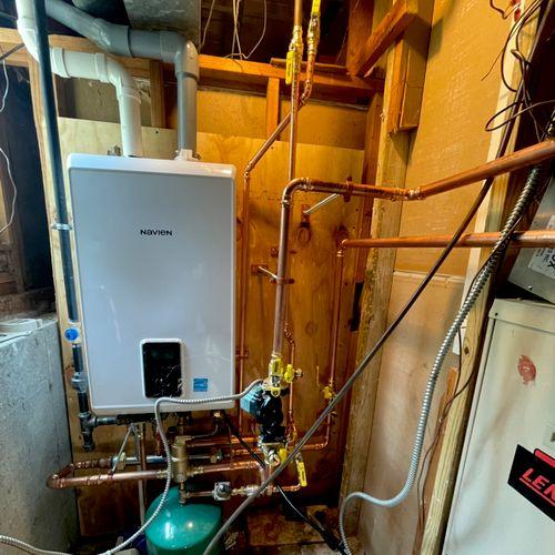 Navien NCB-250/150hh install Installed:05/19/21
