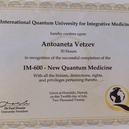 New Quantum Medicine
