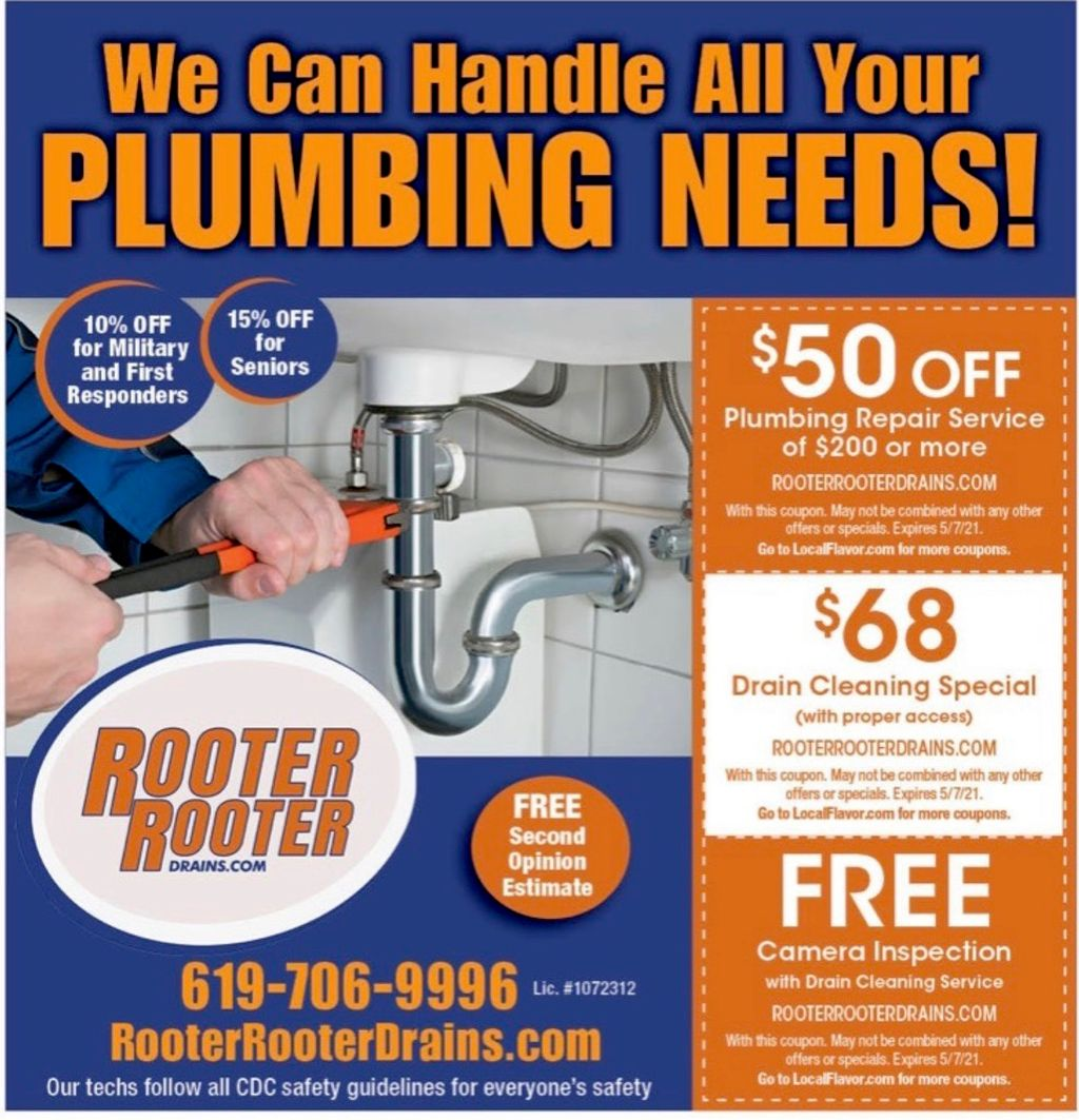 Rooter Rooter Drains and Plumbing