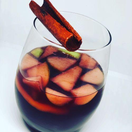 Cinnamon Spice Winter Sangria