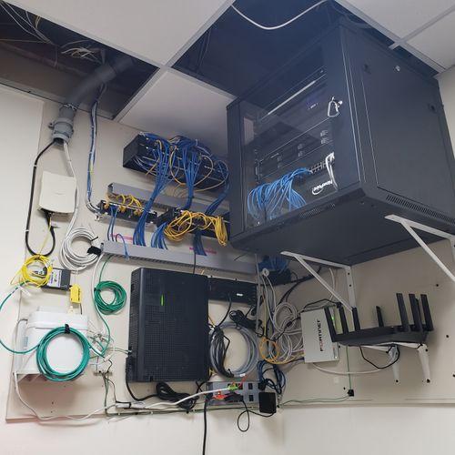 Finished Communications closet!