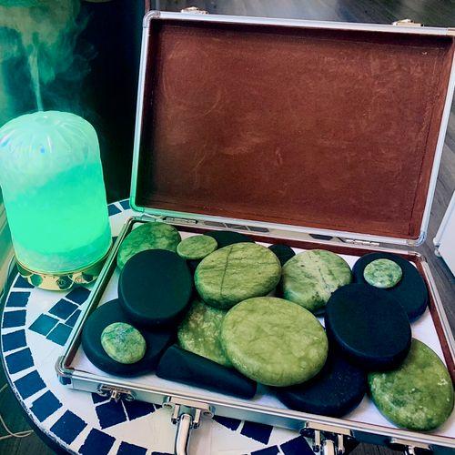 Jada & Lava Hot stone treatment (All year round)