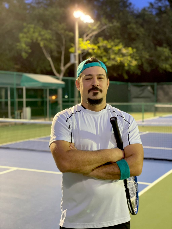 Tennis with Jonathan