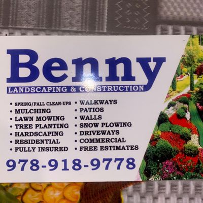 Avatar for Benny Landscaping & Construction