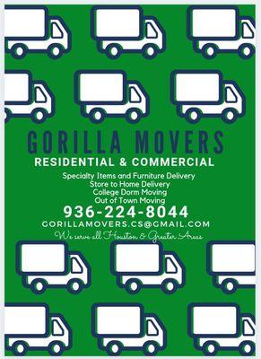 Avatar for Gorllia Movers