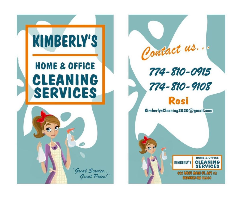 KIMBERLYS CLEANING SERVICE