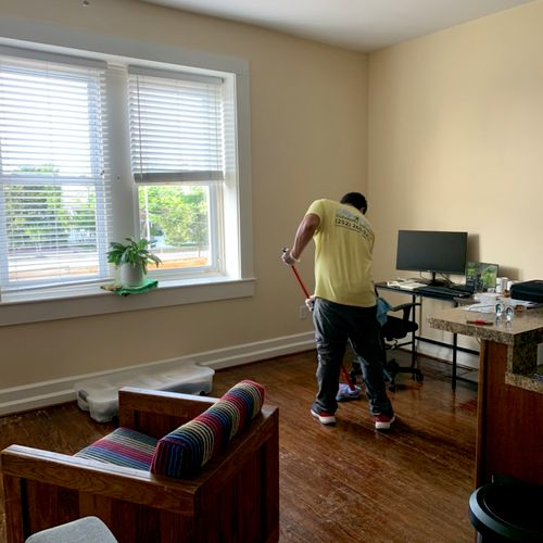 Residential cleaning in Morehead City