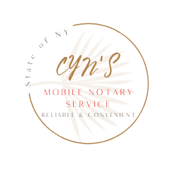 Avatar for Cyn's Mobile Notary Service