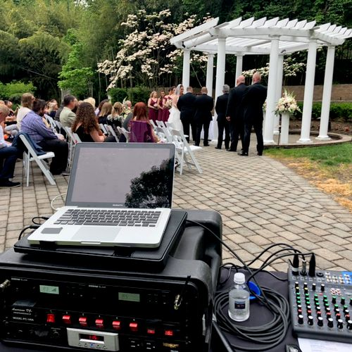 Outdoor ceremony @The Tides 5/22/21
