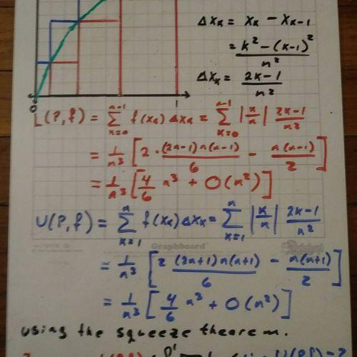 Riemann Sum: f(x) = Square Root (x) on [0,1]
