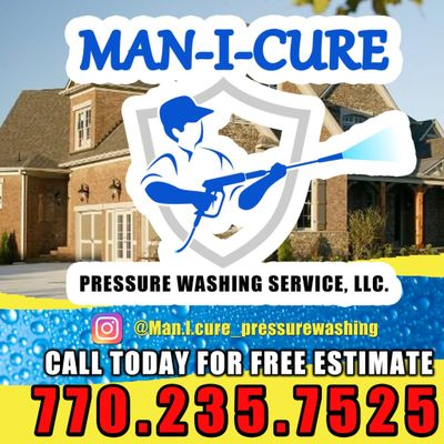 Avatar for Man-I-Cure Pressure Washing Services LLC