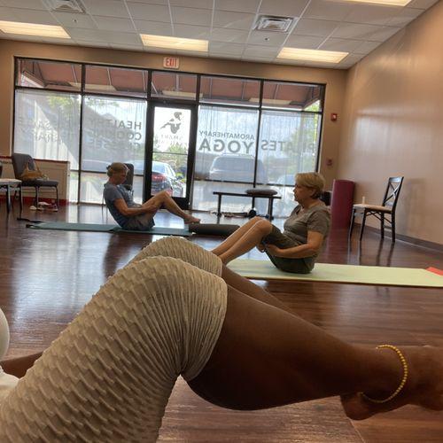 Core Activation Yoga!