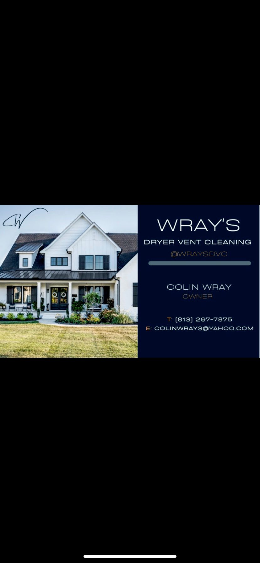 Wray's Dryer Vent Cleaning