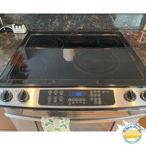 Stove Top Cleaning - After