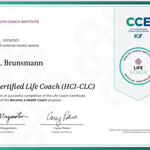 Receiving my certification was the best investment I've ever made for myself.