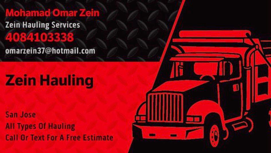 Zein Hauling And Demolition Services