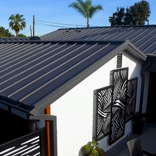 Metal is our SPECIALTY. Exposed fastener and Standing Seam on any building.
