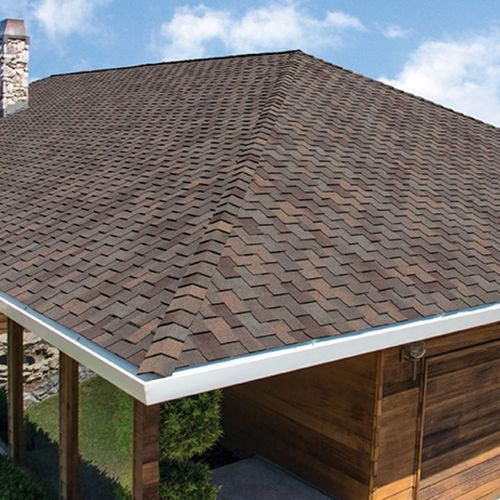 We offer shingles! Standard architectural, Class 4, and Presidential.