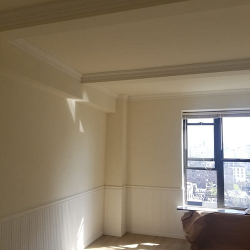 Crown molding and wall panels