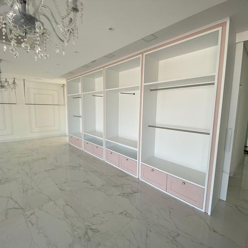 Closet Installation
