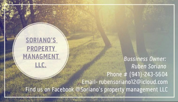 Soriano's property management LLC