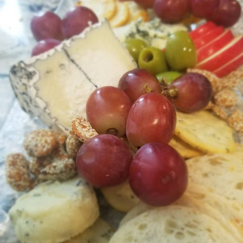Artisan Cheese, Fruit and Charcuterie Platter