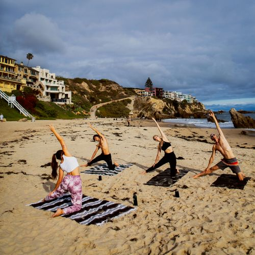 Small group private on the beach in Newport Beach