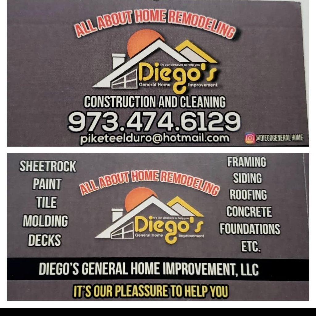Diego's General Home Improvement LLC