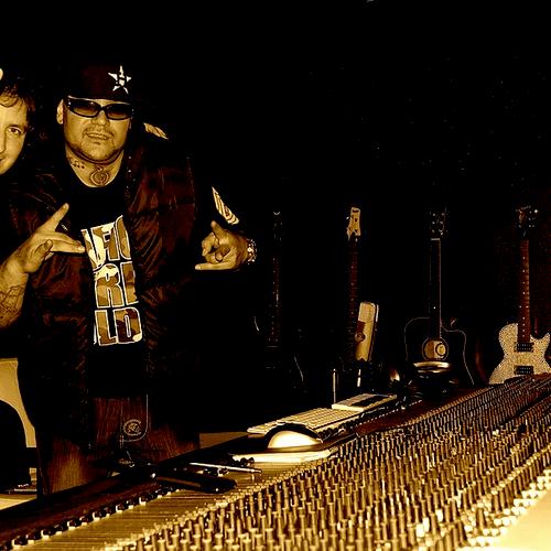 Jordi working with Kumbia Kings
