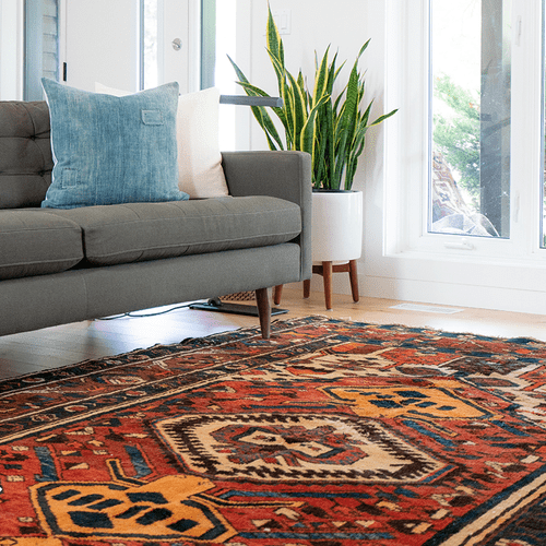 Area rugs to brighten up a room.