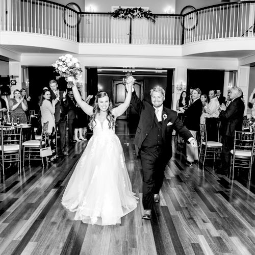Bride and Groom Entrance - Photo by Heather Frable