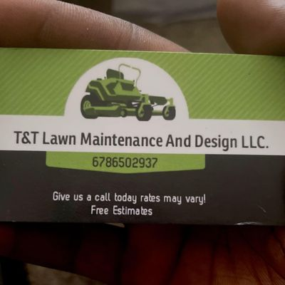 Avatar for T&T lawn maintenance and design llc