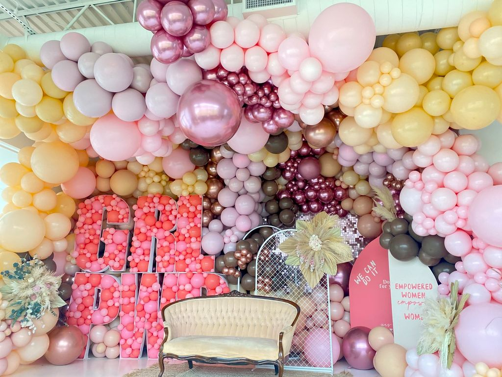 Air decor balloons