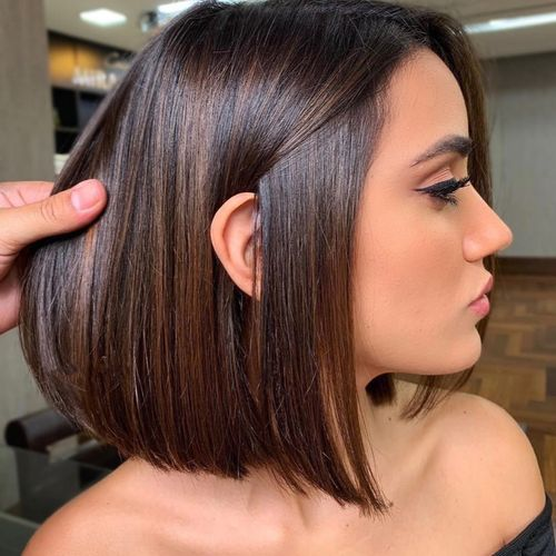 Rich color, highlights, and a cut for Amy