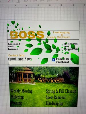 Avatar for BOSS Landscaping & Grounds Maint. LLC