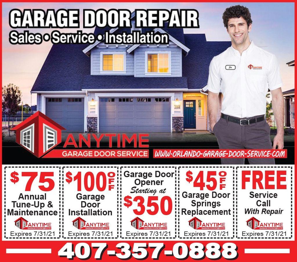 AnyTime Garage Door Service Inc