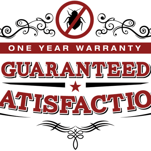 Our bed bug treatments always include a one year warranty!